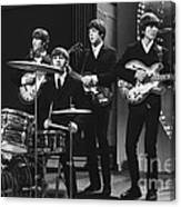 Beatles 1966 50th Anniversary Canvas Print