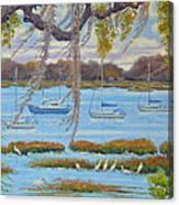 Beaufort Anchorage Canvas Print