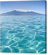 Beauitful Seascape Of Moorea Canvas Print
