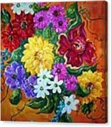 Beauties In Bloom Canvas Print