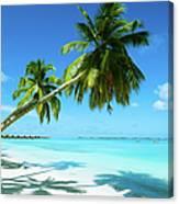 Beautiful Beach Resort Canvas Print