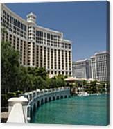 Beautiful Bellagio Hotel- Vegas Canvas Print
