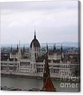 Beautiful Budapest Canvas Print