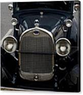 Beautiful Classic Car Front View Canvas Print