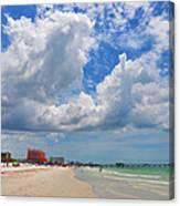 Beautiful Clearwater Beach Canvas Print