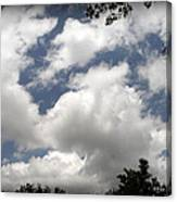 Beautiful Clouds Roll By Canvas Print