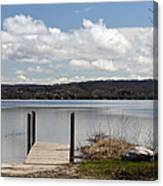 Beautiful Day At The Lake Canvas Print