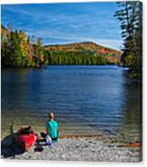 Beautiful Day To Kayak Canvas Print