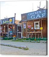 Beautiful Downtown Chicken-alaska Canvas Print