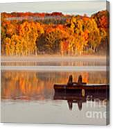 Beautiful Ending To A Great Summer Canvas Print