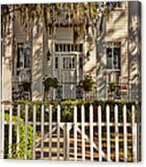 Beautiful Entryway On The Isle Of Hope Canvas Print