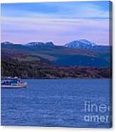 Beautiful Evening At Ullapool Canvas Print