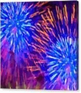 Beautiful Fireworks 10 Canvas Print