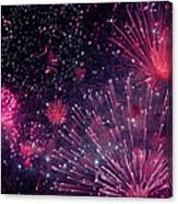 Beautiful Fireworks 12 Canvas Print