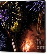 Beautiful Fireworks 5 Canvas Print
