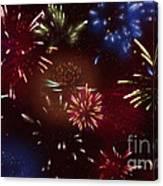 Beautiful Fireworks 9 Canvas Print