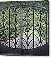 Beautiful Gate Canvas Print