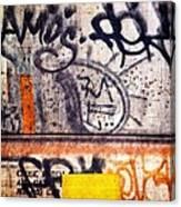 Beautiful Graffiti  Canvas Print