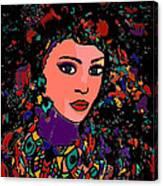 Beautiful Gypsy Canvas Print
