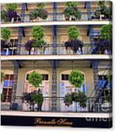 Beautiful Hotel In New Orleans Canvas Print