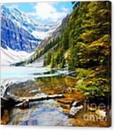 Beautiful Lake Agnes Canvas Print