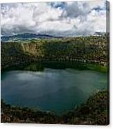 Beautiful Lake Guatavita Canvas Print