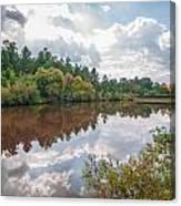 Beautiful Lake Reflections Canvas Print