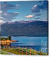 Beautiful Lake View Canvas Print