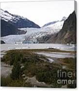 Beautiful Mendenhall Glacier Canvas Print
