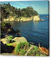 Beautiful Monterey Bay From Point Lobos Canvas Print