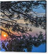 Pastel Morning Canvas Print