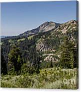 Beautiful Mountains Canvas Print