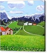 Beautiful Norway Canvas Print