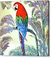 Beautiful Parrot For Someone Special Canvas Print