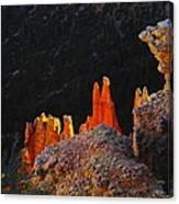Beautiful Pinnacles At Bryce Canyon Canvas Print