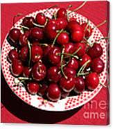 Beautiful Prosser Cherries Canvas Print