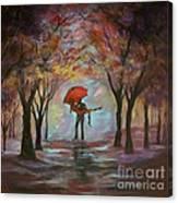 Beautiful Romance Canvas Print