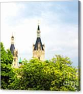 Beautiful Schwerin Castle Canvas Print