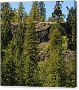 Beautiful Spring Day In Spokane Canvas Print