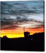 Beautiful Sunset In East Tn Canvas Print