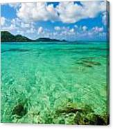 Beautiful Turquoise Water Canvas Print