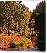 Beautiful Victoria Park Truro Nova Scotia Canvas Print