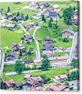 Beautiful Village Lauterbrunnen Canvas Print