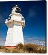 Beautiful Waipapa Point Lighthouse The Catlins Nz Canvas Print