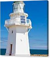 Beautiful Wairapa Point Lighthouse The Catlins Nz Canvas Print