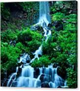 Beautiful Waterfalls In Karuizawa Japan Canvas Print