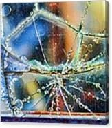 Beautifully Broken Framed Canvas Print