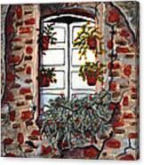 Beauty After Destruction Window Art Prints Canvas Print