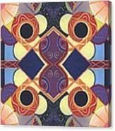 Beauty In Symmetry 1 - The Joy Of Design X X Arrangement Canvas Print