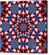 Beauty Of Aruba Kaleidoscope Canvas Print